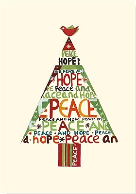Peace Hope Tree Small Boxed Holiday Cards By Peter Pauper Press, Inc. (EDT)